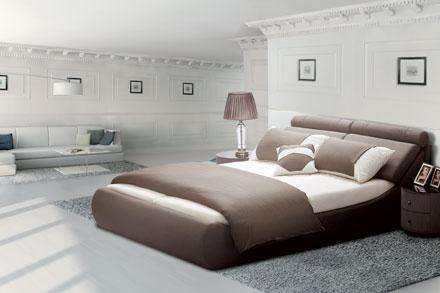 """设计理念:一帆风顺  """"定知一日帆,使得千里风"""" 一首唐•孟郊诗,道尽了对未来生活的由衷向往, 床架采用帆船式设计,同样寄托了慕思与您,亦友亦客的美好祝愿 1、这是一款集""""舒适""""、""""设计感""""的一款床,床屏靠包分段式设计,背部靠包厚实、可调节圆形靠包,对人体的颈部、头部、背部起到支撑作用; 2、特丽纶面料,顺直,亲肤性好,不易缩水,不易起球; 3、弧形高床箱设计,增大了箱体空间,保持了床垫的清凉干爽,加快箱体空气循环,更好的保护床垫的通气与干爽"""