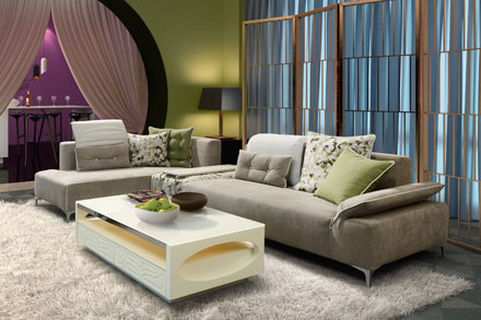 Carlu0027Carl Sofa 1C 1477B This Sofa Is Created To The Average Family, Suit To  Match Every Decoration, At The Same Time, It Is A Function Sofa, ...