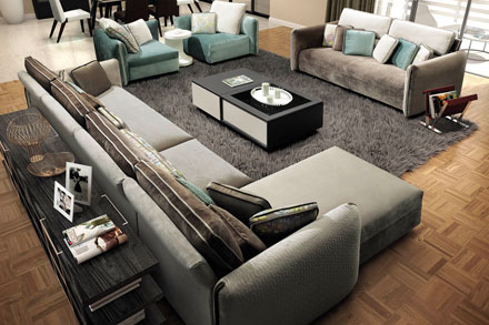 1+1u003d1, Two Sofas Make One Big Sofa, Now The Trendy Of Europe Style Is More  And More Adopt The Combination Sofa, Like 1+1+3 Match 1+3+couch.