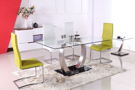 餐桌椅 T1402 + Y819B