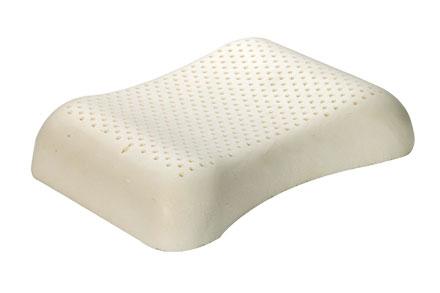 枕头采用泰国天然乳胶制成,抗菌防螨,中间凹的设计起到服帖头部及脸部,缓解脸部疲劳,改善精神面貌,故而称之为美容枕。