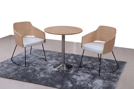 椅A-025F、桌WD-09E